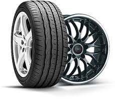 Selection of tires and wheels on the brand of car. Base