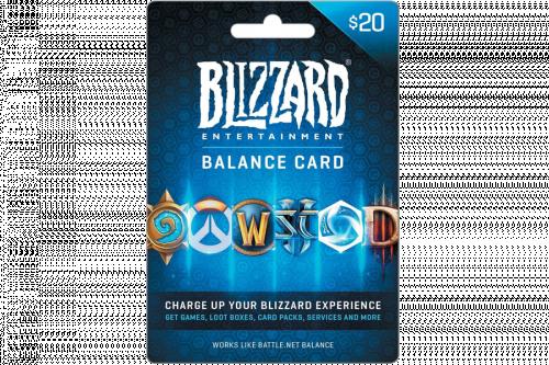 💎 Battle.net 20 USD Подарочная Карта Blizzard 💎