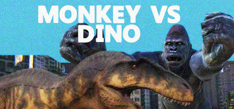 Фотография monkey vs dino (steam key/region free)