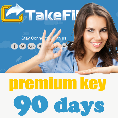 TakeFile.link Premium Key 90 days