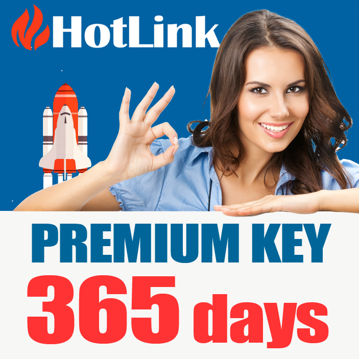 HotLink.cc Premium Key 365 days