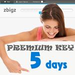 ZbigZ.com Premium Key 5 days