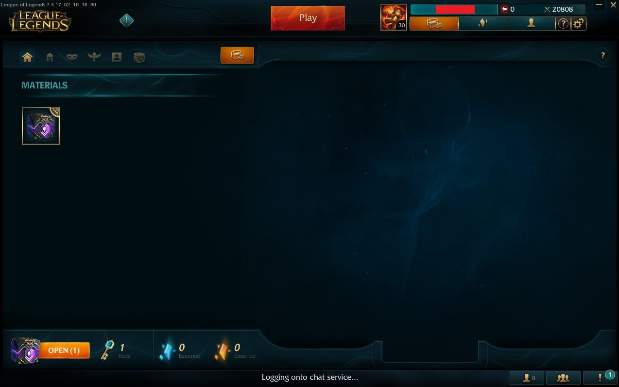 League of Legends LvL.30 Account EUW 20000+ IP Unranked