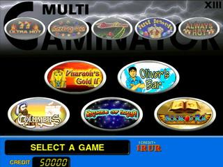 EMULATOR NOVOMATIC MULTI-GAMINATOR 22 1