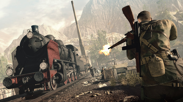 Sniper Elite 4 (STEAM KEY/RU)+BONUS