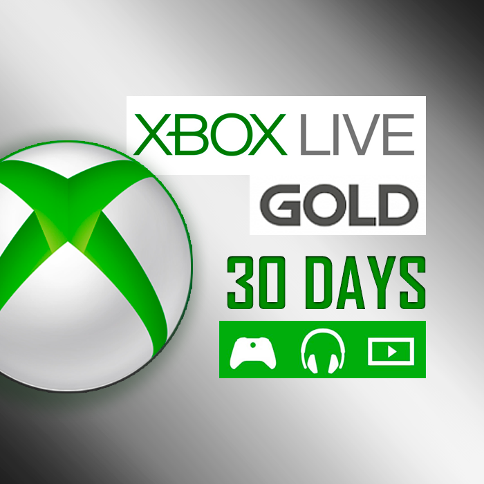 Xbox Live Gold - 1 MONTH- XBOX ONE/360 GLOBAL KEY+BONUS