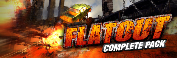 FlatOut 1+2+Ultimate Carnage Complete Pack STEAM KEY