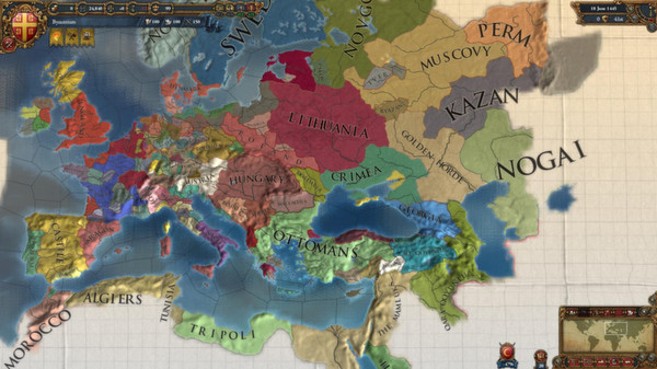 Europa Universalis IV 4 Pre-Order Pack STEAM KEY GLOBAL