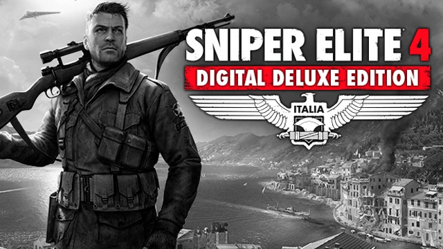 sniper elite 4 deluxe edition (steam key)+bonus 375 rur