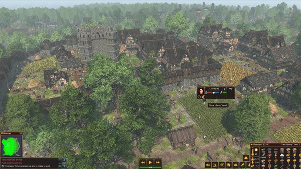Life is Feudal: Forest Village (STEAM KEY/GLOBAL)+BONUS