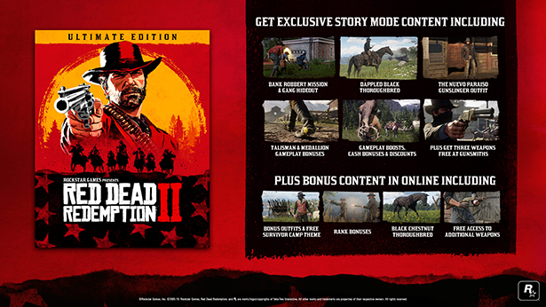 🔶 Red Dead Redemption 2: Ultimate Edition (STEAM GIFT)