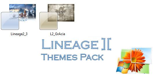 темы для Windows 7 Lineage 2