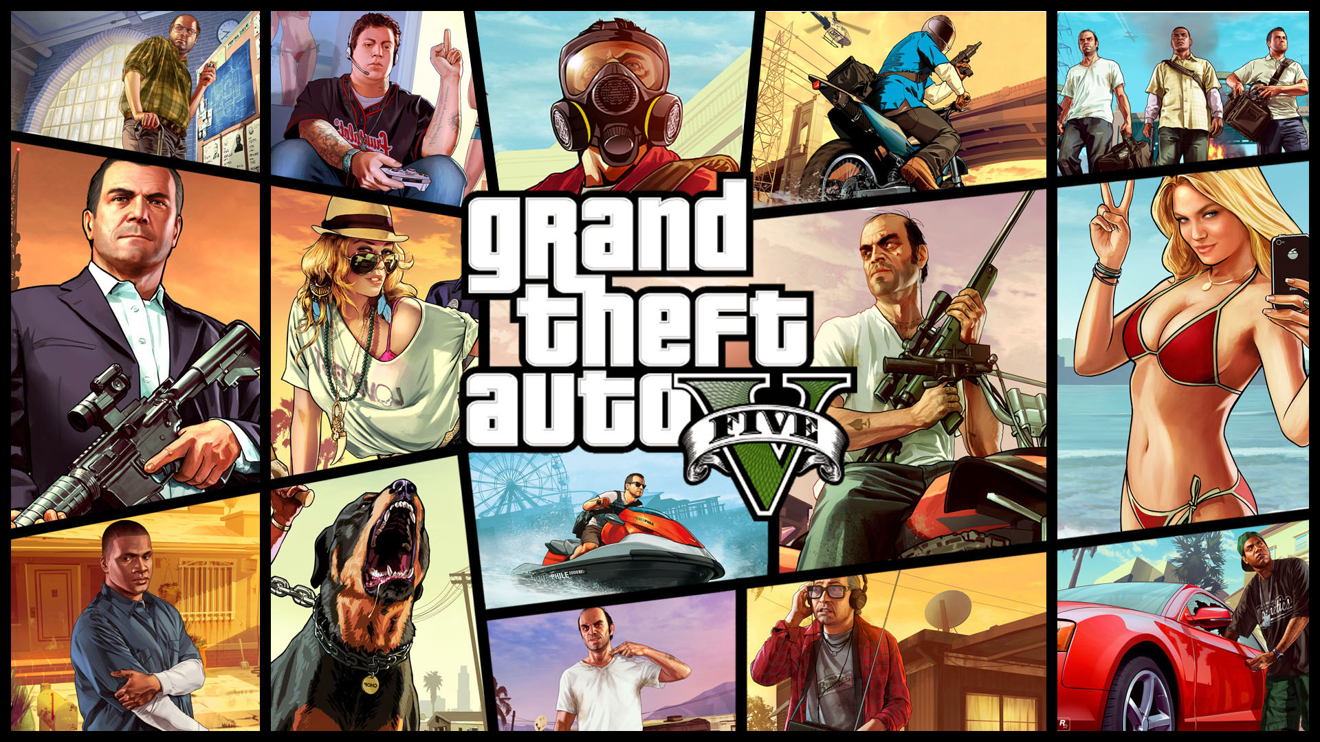 Grand Theft Auto V (Rockstar key. Russia / CIS)