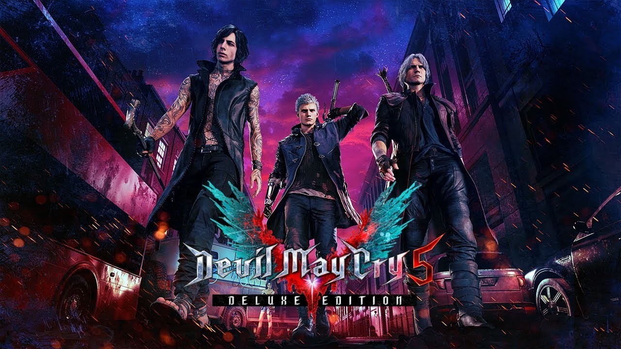 Devil May Cry 5 - Deluxe (Key). Big Stock 2019