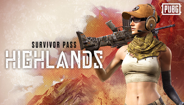 PUBG - Survivor Pass: Highlands (Steam Global Key)