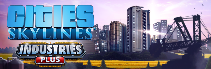 CITIES SKYLINES - INDUSTRIES PLUS ✅STEAM + BONUS