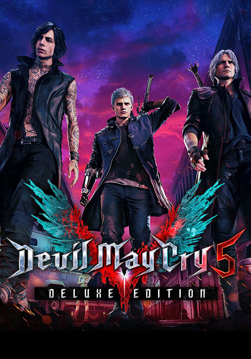 DEVIL MAY CRY 5 DELUXE ✅OFFICIAL+БОНУС