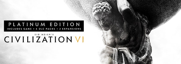 CIVILIZATION VI PLATINUM 💳0% FEES ✅STEAM + BONUS