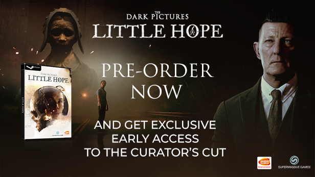 THE DARK PICTURES ANTHOLOGY: LITTLE HOPE ✚ GIFT