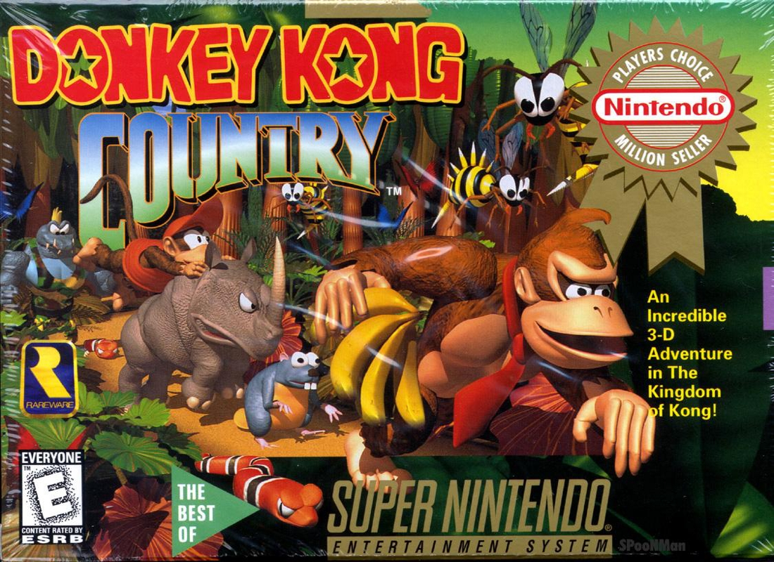 Game Donkey Kong Country (SNES)