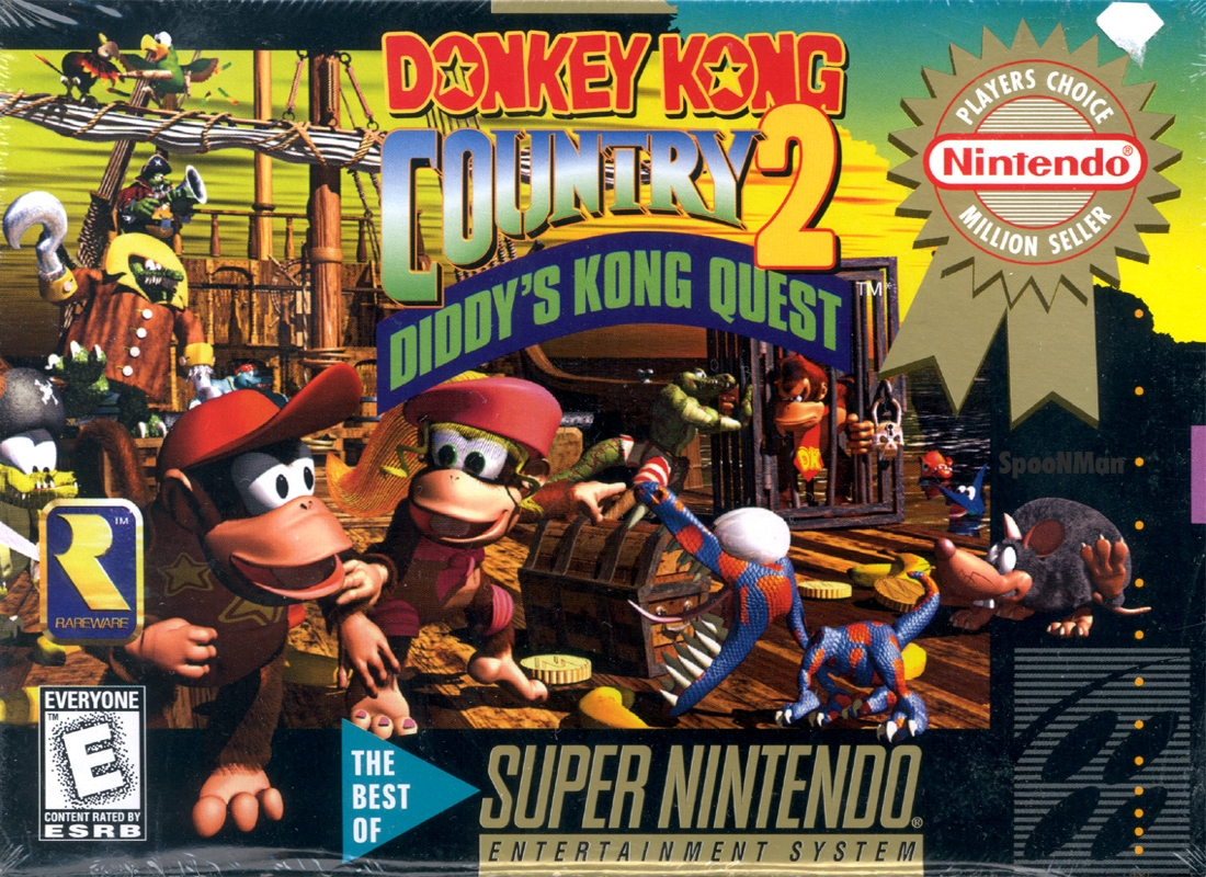 Game Donkey Kong Country 2 (SNES)
