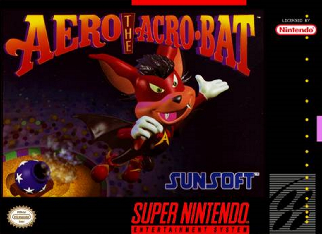 Play Aero the Acro-Bat (SNES)