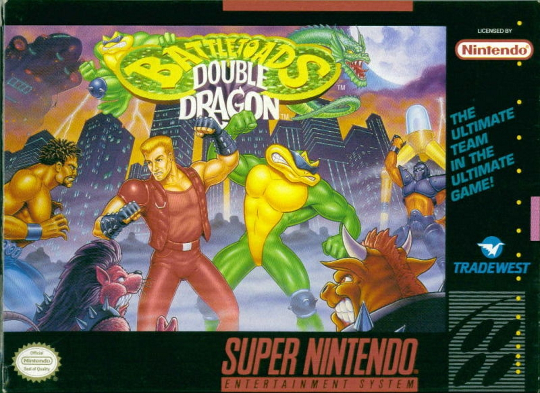 Game Battletoads & Double Dragon (SNES)