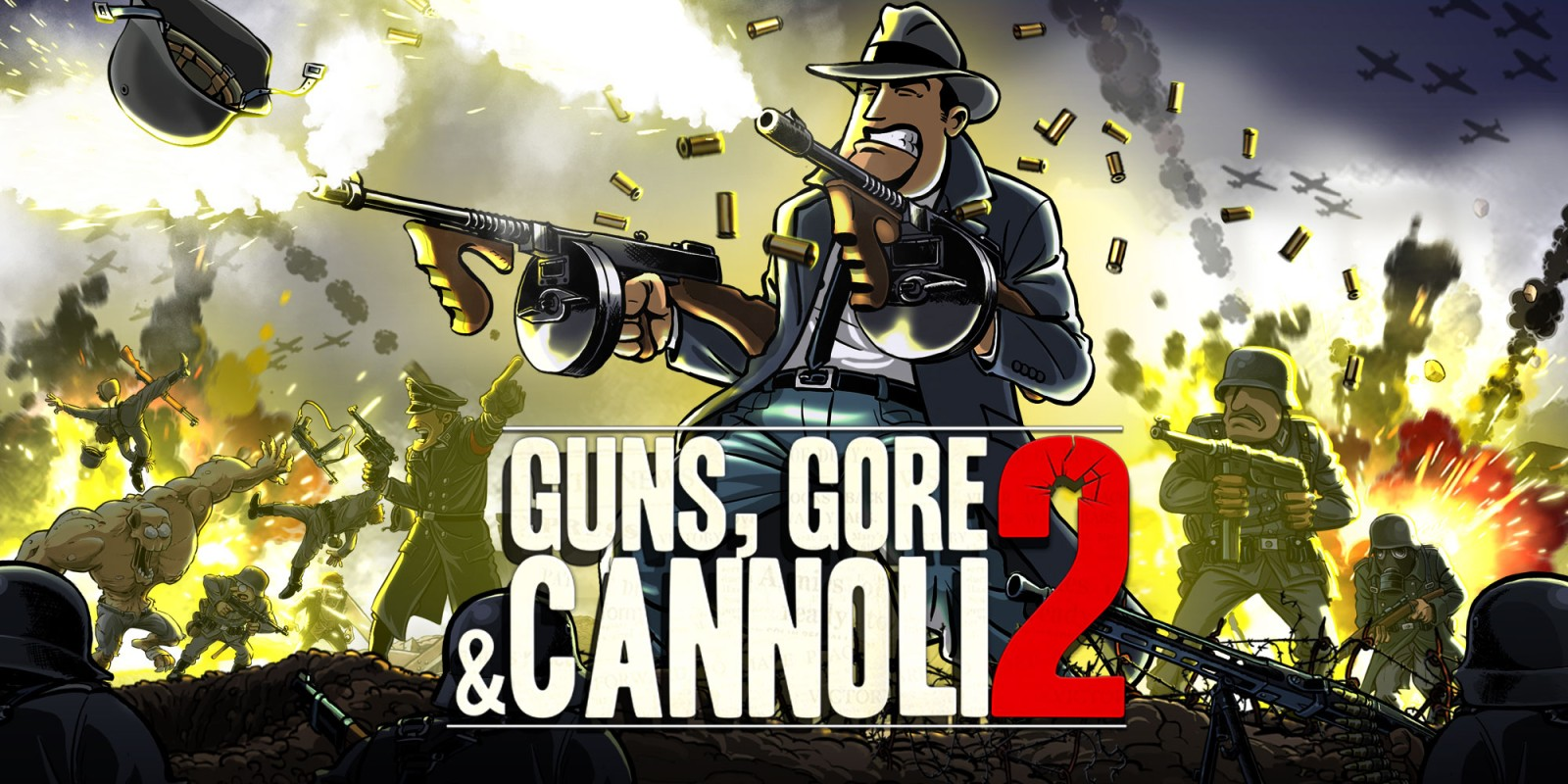 Guns, Gore and Cannoli 2 [Steam CD-Key] (Region free) 2019