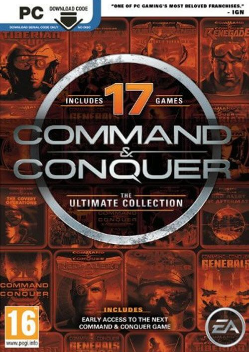 Command & Conquer The Ultimate Collect (Origin RegFree)