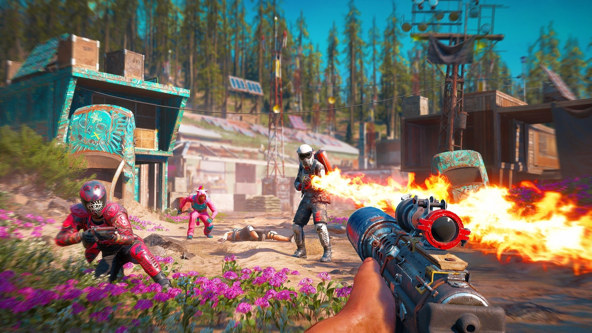 Far Cry New Dawn (Uplay CD-Key RU+CIS)