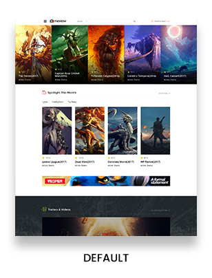 Moview Responsive Film/Video DB & Review Theme