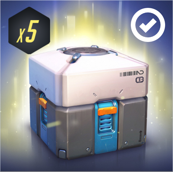 Overwatch Loot Box x5 Key (Twitch Prime) (SEPTEMBER)