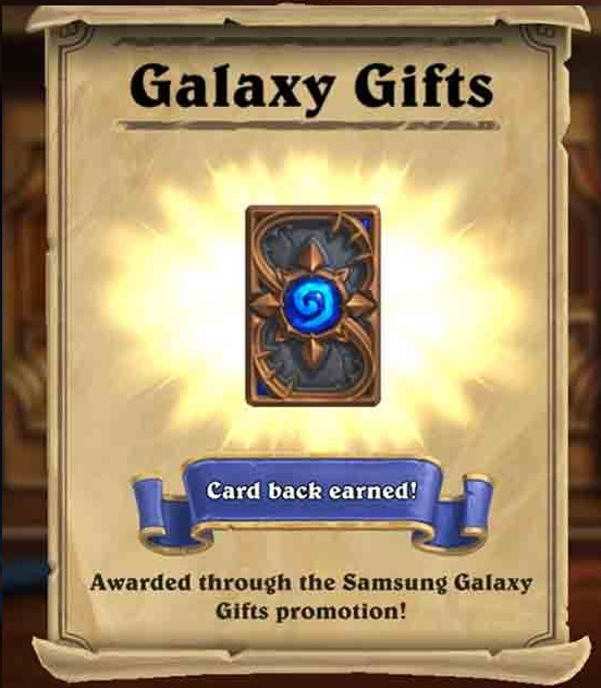 5 Hearthstone Expert Pack (25 cards) + Galaxy s ⭐