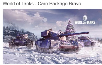 World of Tanks - Care Package Bravo WOT (no Prime)