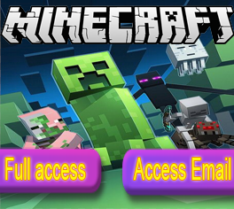 Minecraft With Email Mail.ru | MFA | Instant mail