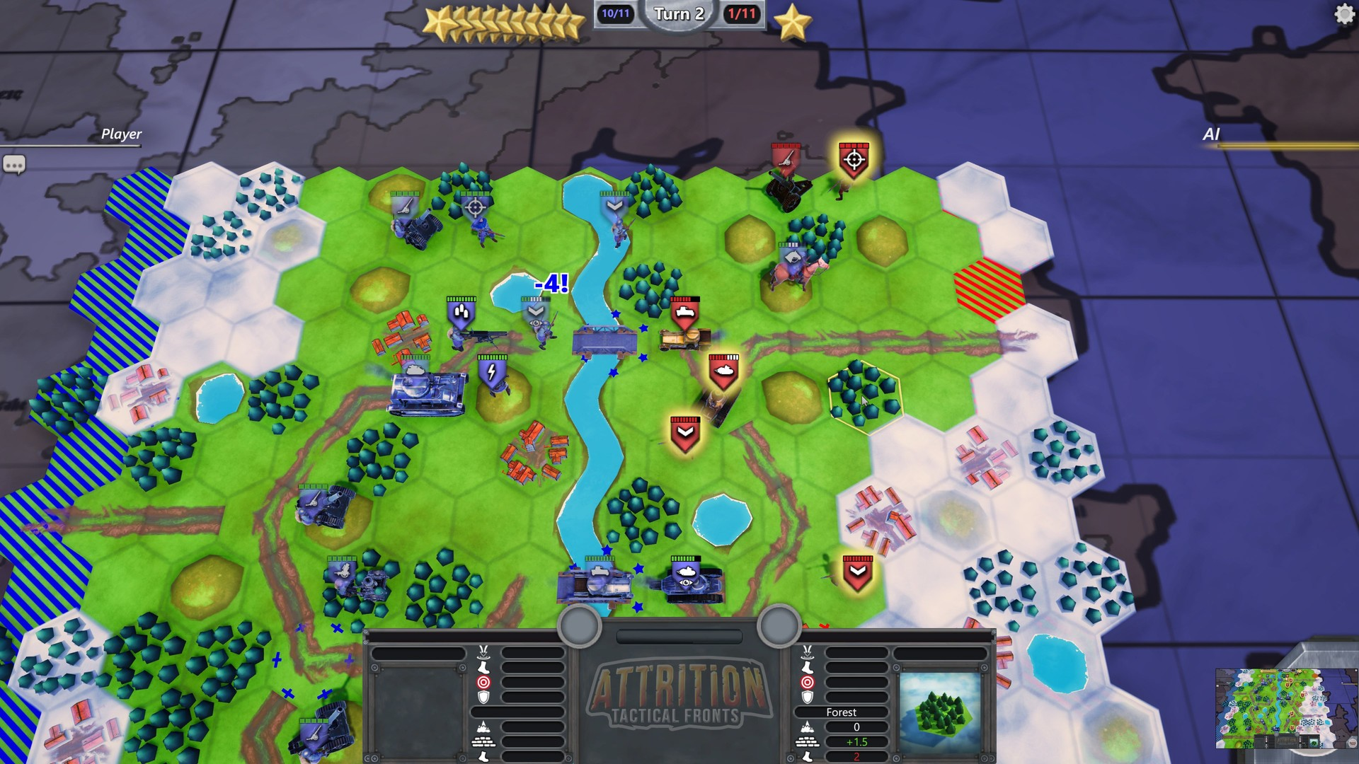 Attrition: Tactical Fronts (Steam key / Region Free)