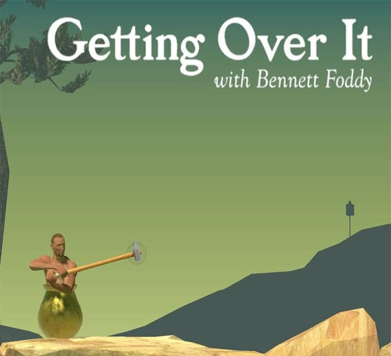 Getting Over It with Bennett Foddy (Steam key) 2019