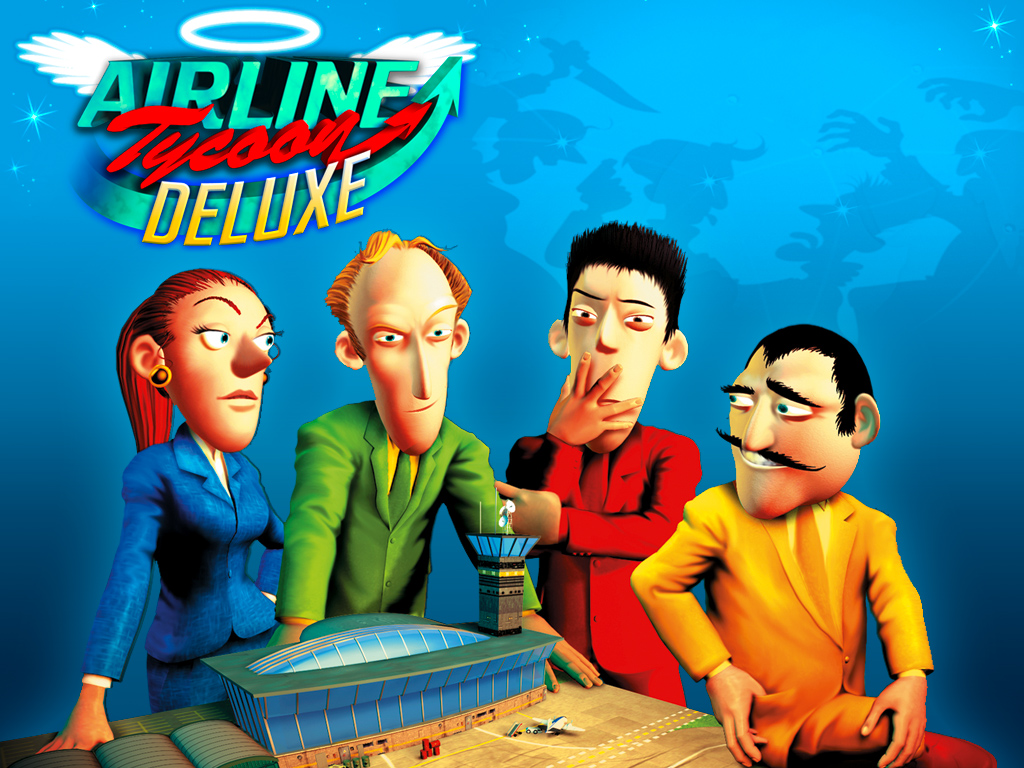 Airline Tycoon Deluxe (Steam key / Region Free)