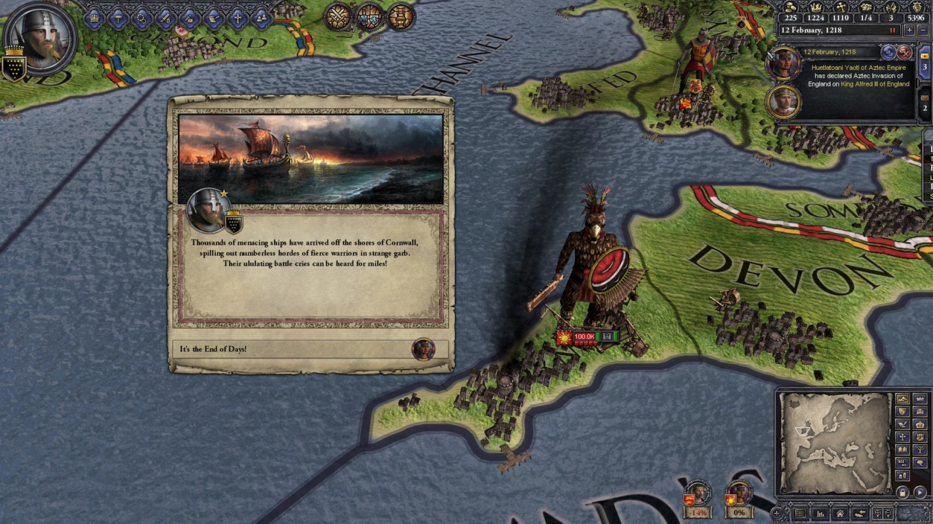 Crusader Kings II: Sunset Invasion (Steam/Region Free)