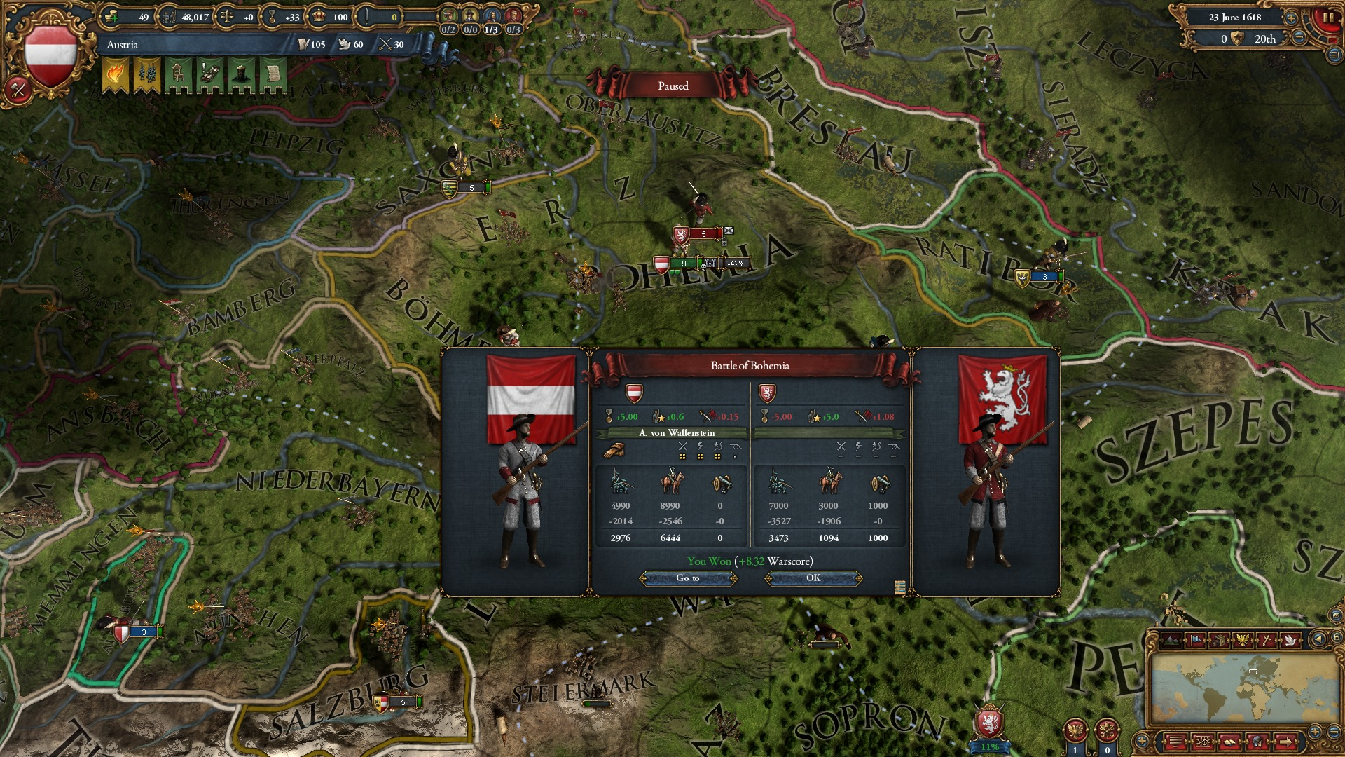 Europa Universalis IV: Art of War Steam key/Region Free
