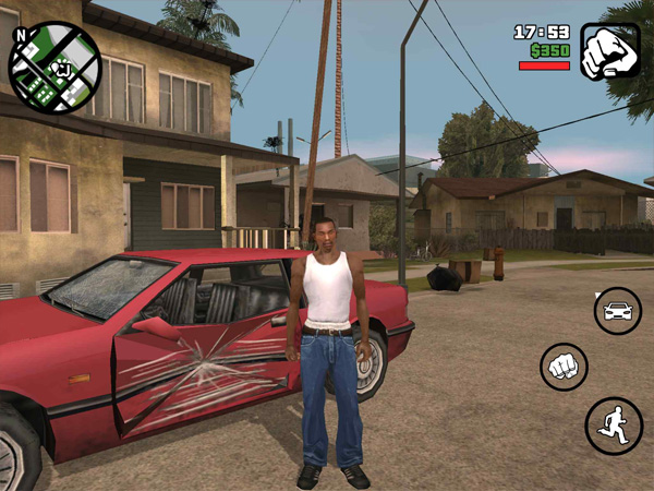 GTA San Andreas on iphone, ipad, ios, AppStore, GTA SA