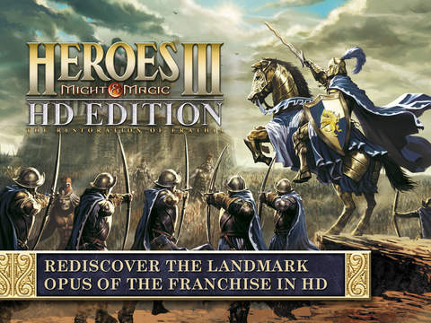Heroes of Might & Magic III HD Edition on IPad IOS 6-11