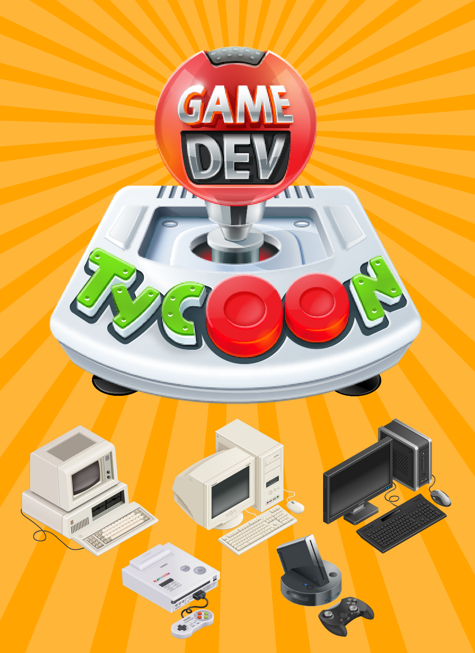 Game dev Tycoon (AppStore for iPhone & iPad, Apple,IOS)