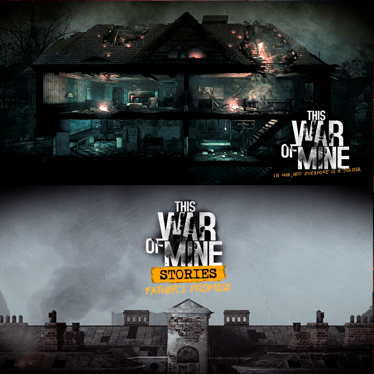 This War Of Mine; TWOM Stories AppStore ios iPhone ipad