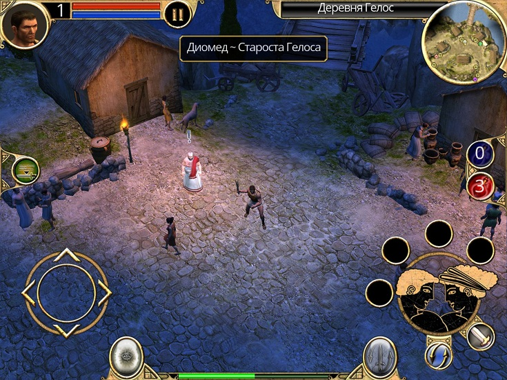 Titan Quest HD (AppStore for iPhone/ iPad,Apple,IOS)