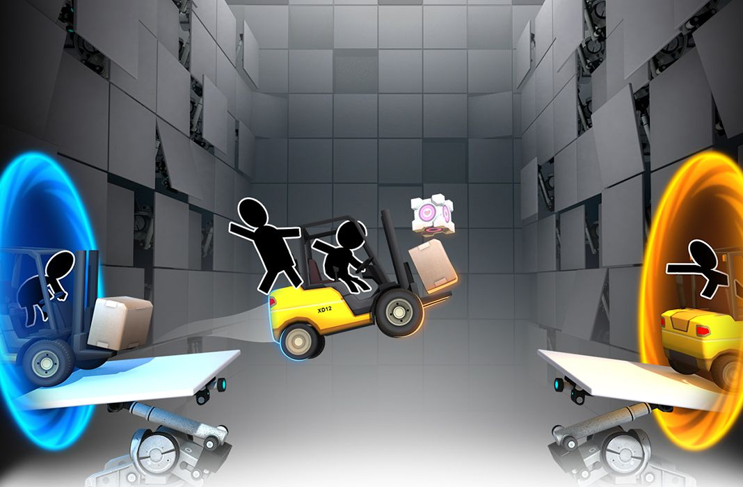 Bridge Constructor Portal(AppStore for iPhone/iPad,IOS)