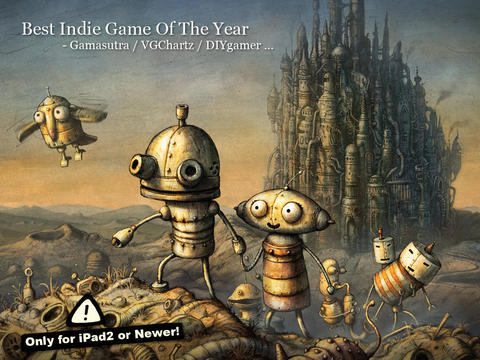 Machinarium (AppStore для iPhone/iPad,IOS,Apple,iTunes)