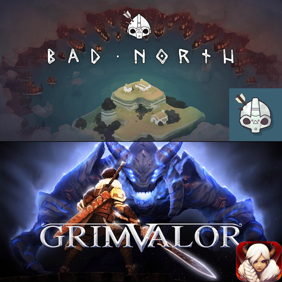 Bad North + Grimvalor AppStore iPhone iPad Apple IOS
