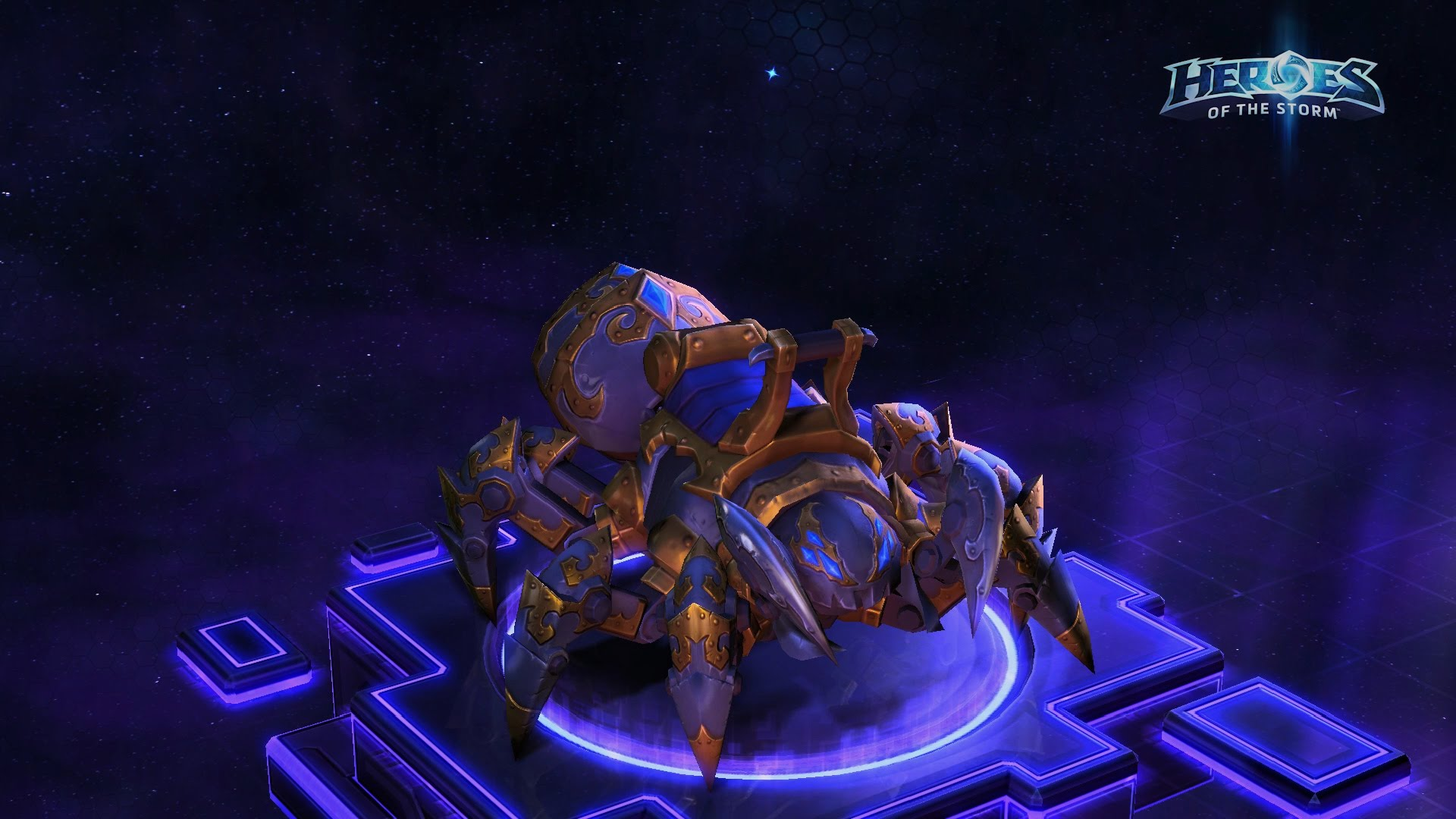 Heroes of the Storm - Mechanospider Mount (reg.free)