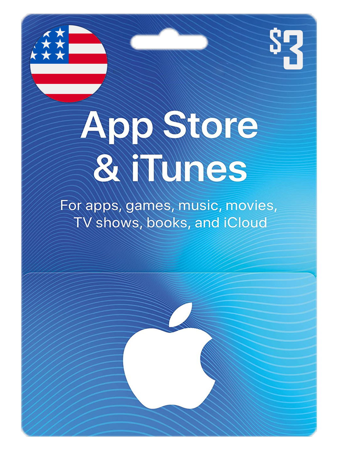 ⭐️iTunes Gift Card  3 $ USD ✅| USA